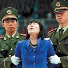 tahun 2004 470 eksekusi mati pada tahun 2008 5000 eksekusi mati pada